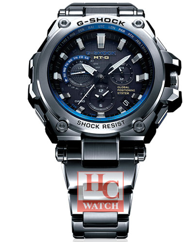 the best attitude 82db4 fe062 G-SHOCK GPS SOLAR SAPPHIRE MTG-G1000D-1A2ER: Ho Chuan Watch