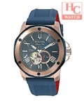 BULOVA Marine Star 98A227 Automatic Blue Dial Men's Rubber Watch