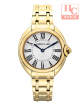 NEW CERRUTI 1881 STRESA WOMEN ELEGANCE CTCRM176SG04MG GOLD STAINLESS STEEL WATCH