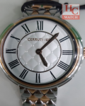 NEW CERRUTI 1881 WOMEN CTCRM25202 SILVER GOLD STAINLESS STEEL ANALOG WATCH