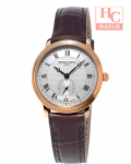 FREDERIQUE CONSTANT FC-235M1S4 Slimline Small Seconds Ladies Brown Leather Watch