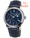FREDERIQUE CONSTANT FC-712MN4H6 Classic Moonphase Automatic Blue Dial Men's Blue Leather Watch