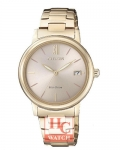 ECO-DRIVE LADIES FE6093-87X