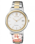 ECO-DRIVE LADIES FE6094-84A